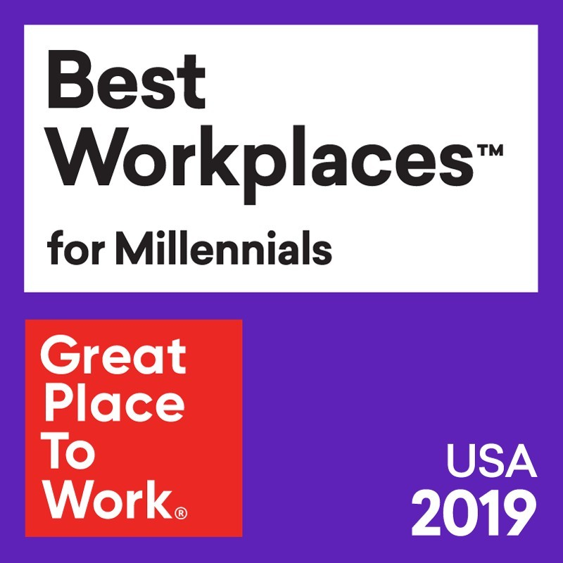 Best Places to Work for Millenials 2019